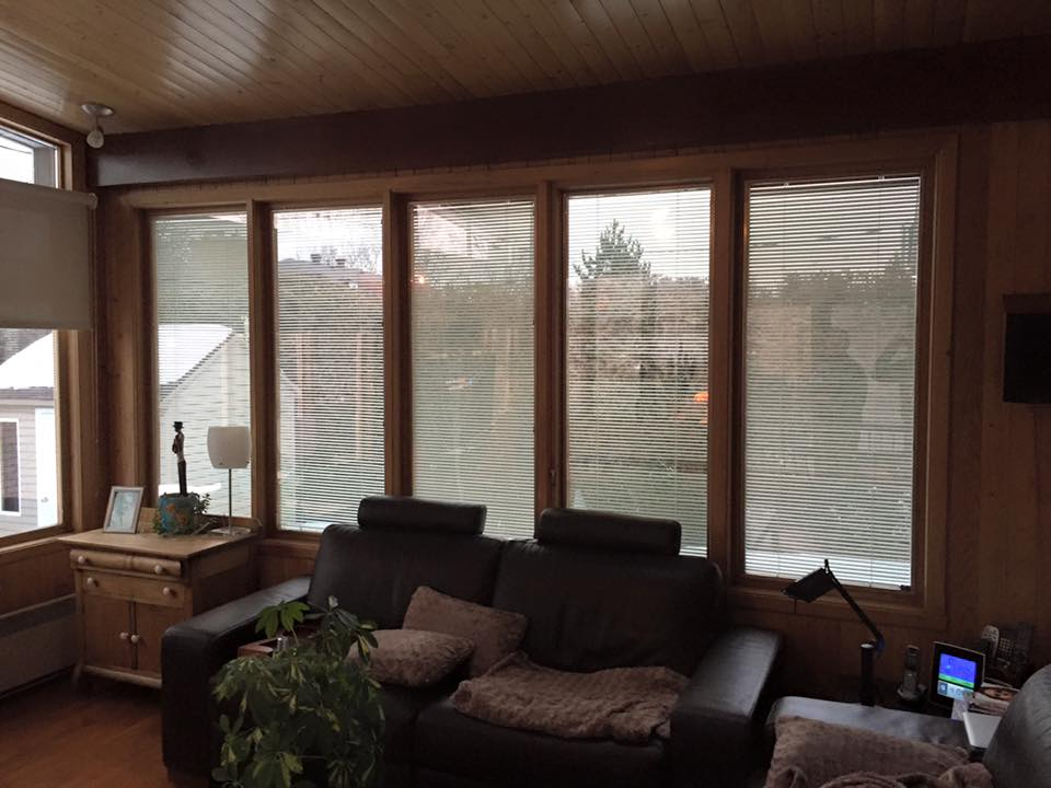 vitres teintées résidentielles